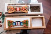 Ručne maľovaný drevený motýlik 2kusy,