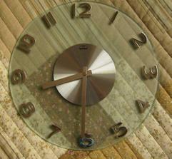 Nové hodiny do kuchyně; 900,-