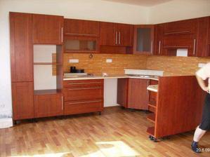 Moje nová kuchyňka, ještě není celá hotová.