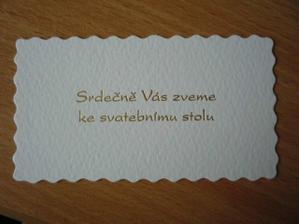...a pozvání ke stolu