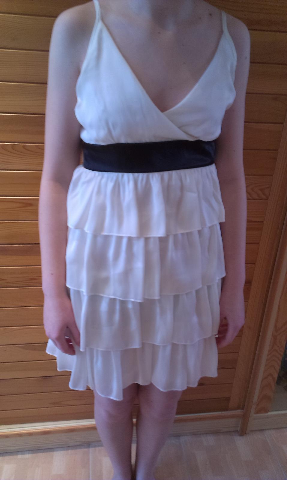 Krémové šaty - Obrázek č. 1