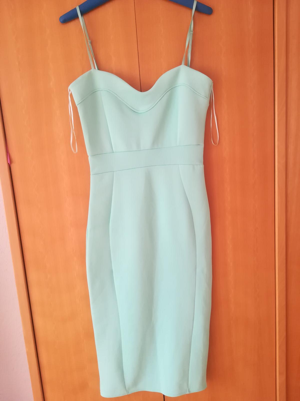 Mint šaty - Obrázek č. 1