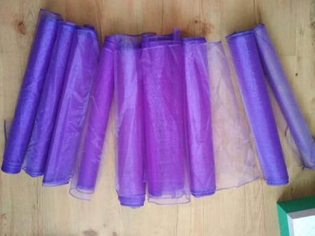 Organza fialová - Obrázek č. 1