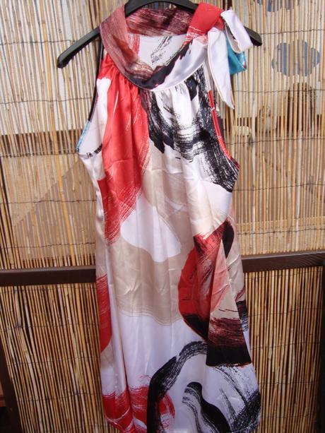 Saténové šaty - Obrázek č. 1