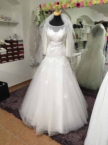 Svatební šaty XS/S - Obrázek č. 2