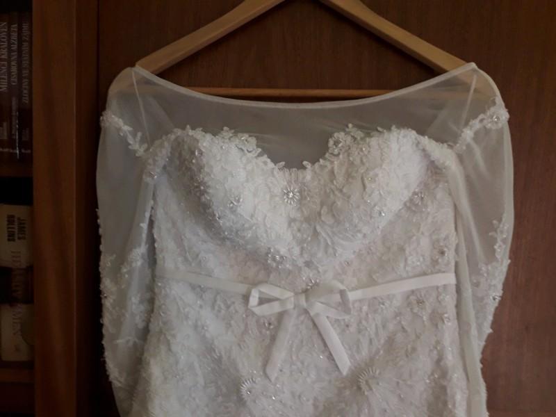 Svatební šaty XS/S - Obrázek č. 4