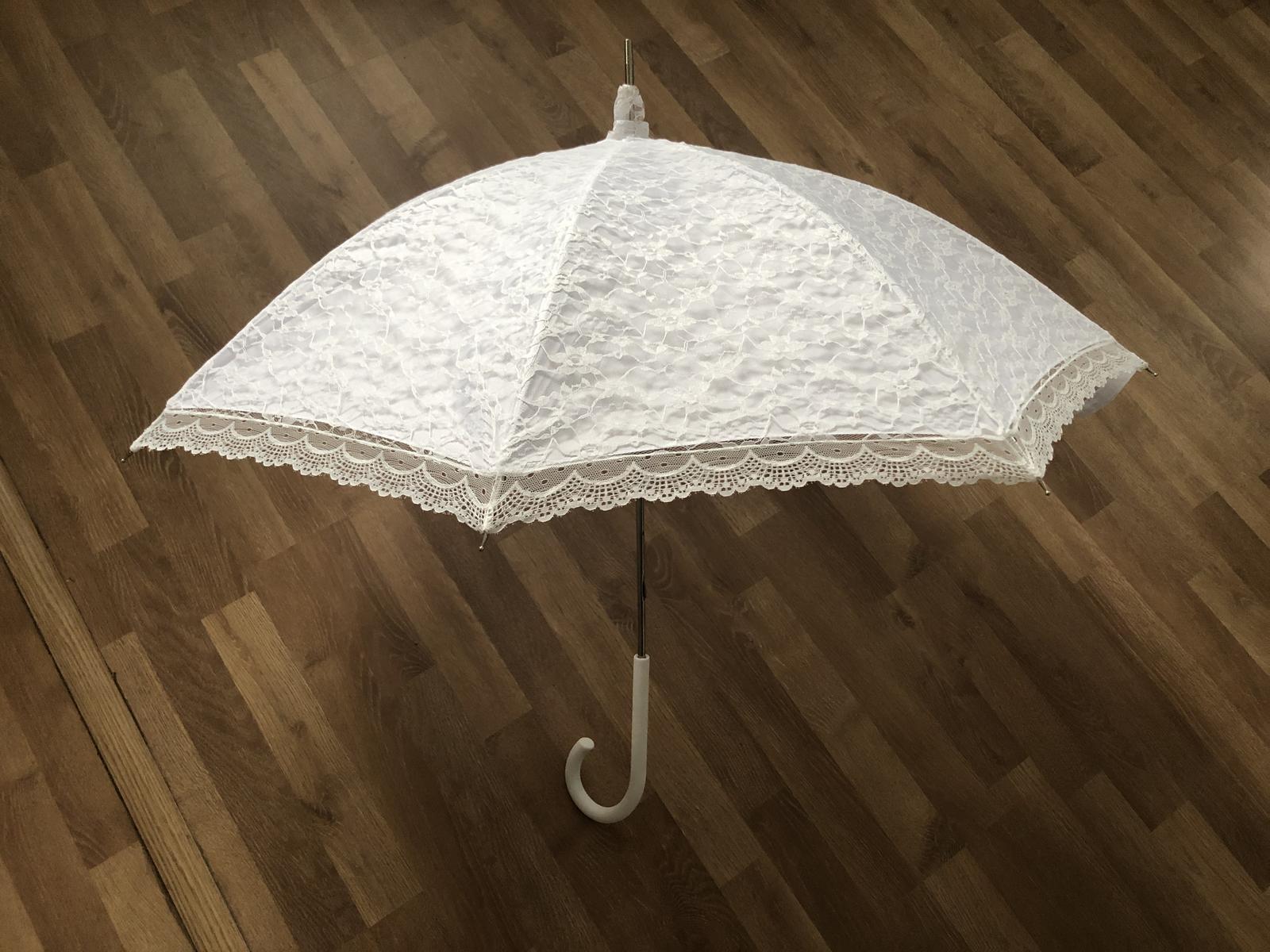 Krajkový deštník - Obrázek č. 1