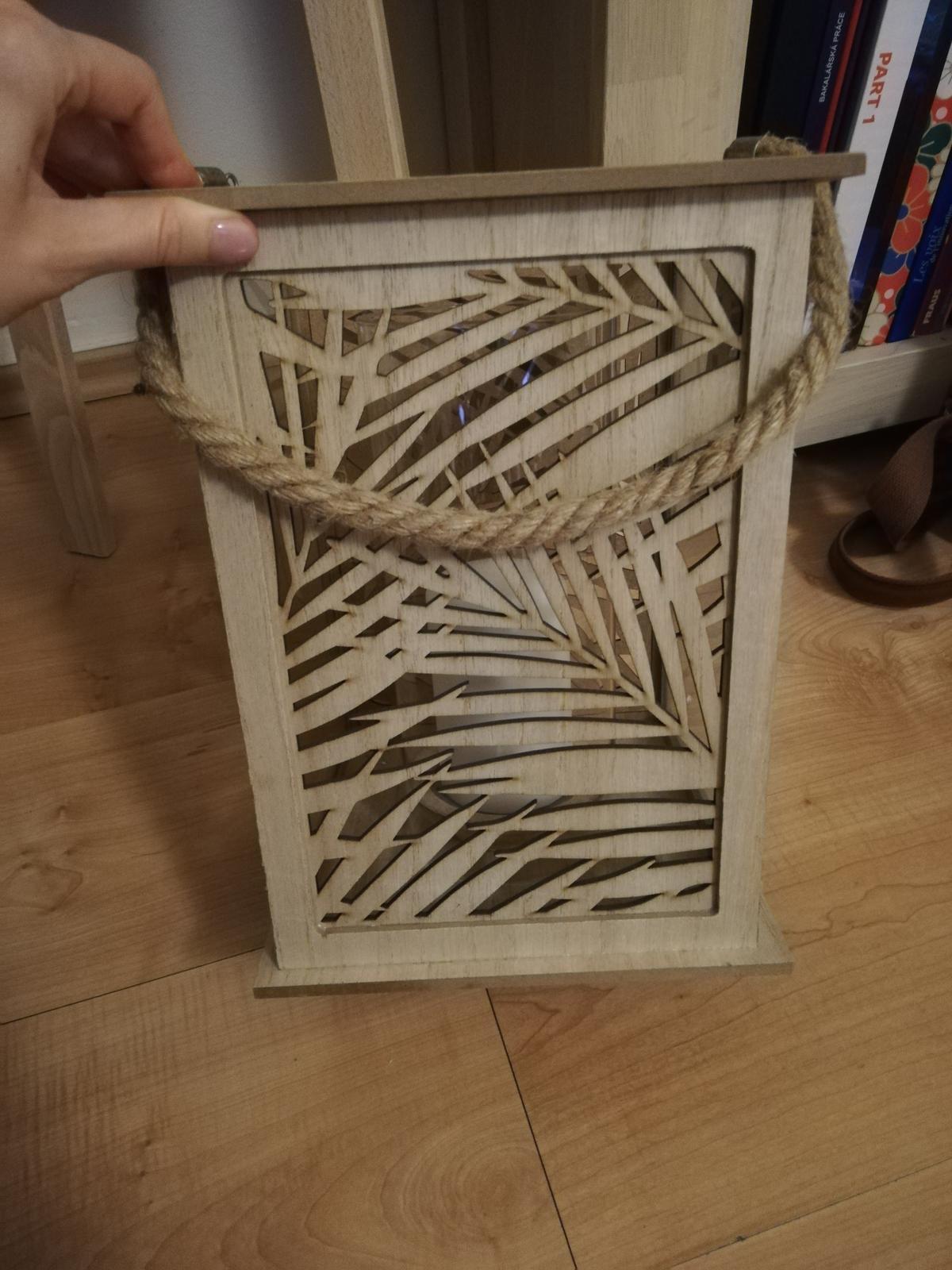 Lucerna drevená - Obrázek č. 1