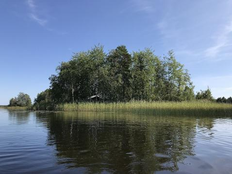 Saarimökki - Letní foto z inzerátu....