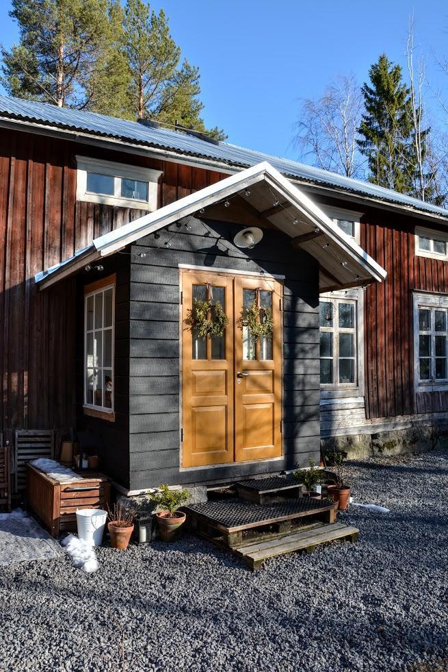 Punainen Talo - Jaro se pomalu plíží i do Finska :)