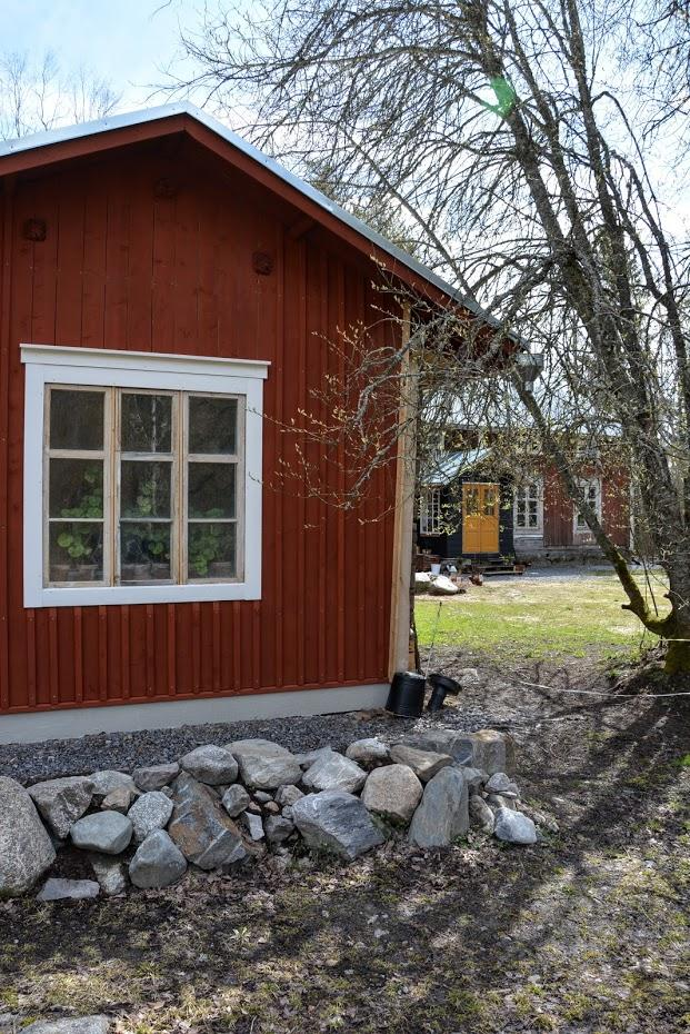"""Punainen Talo - Naše """"kůlna"""" ... přes 2 roky práce a stále není hotovo... aneb když se projekt """"oprav kůlnu"""" zvrtne na """"postav si druhý dům"""""""