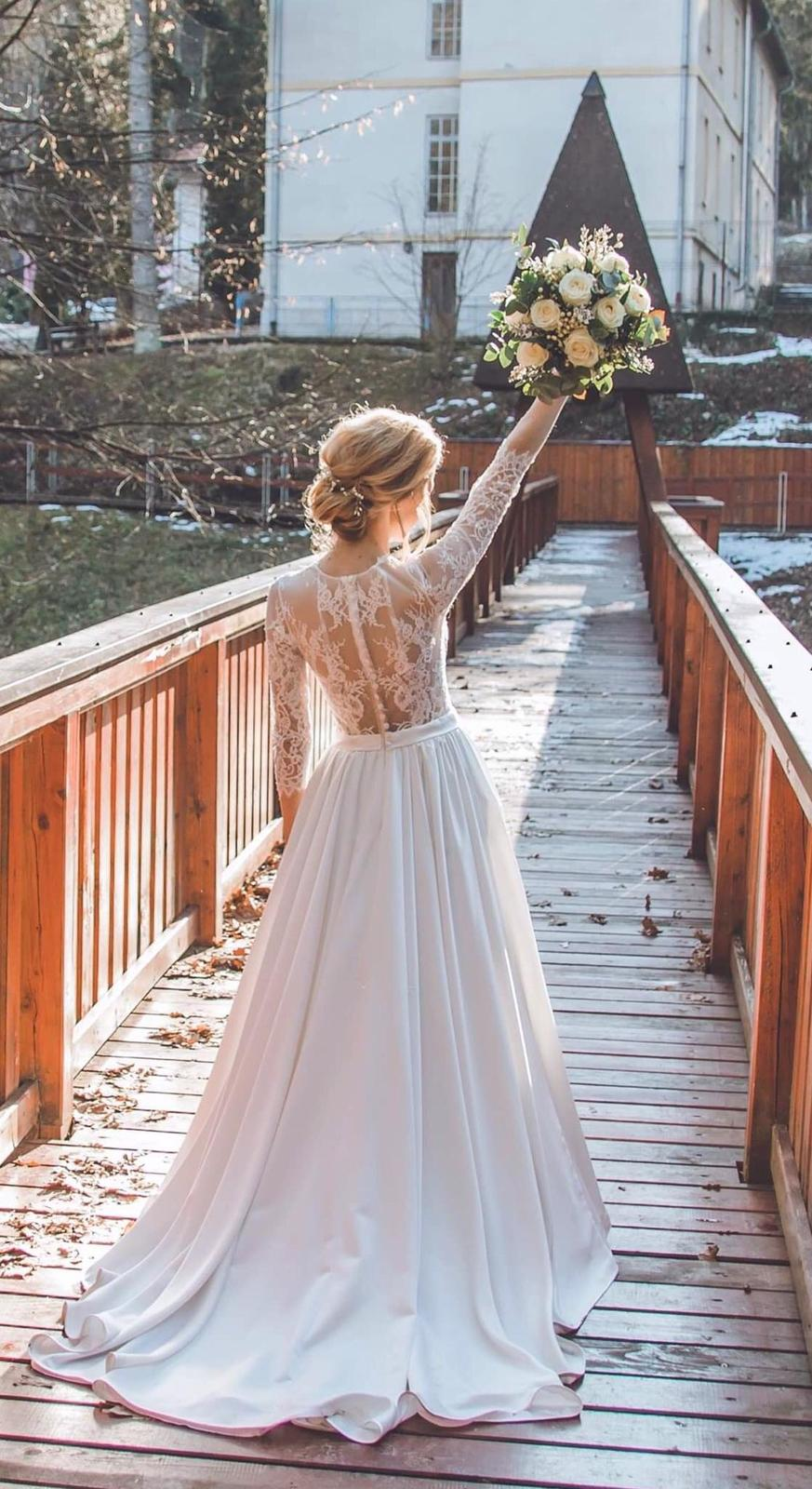 Svadobné šaty 32/34, IVORY - Obrázok č. 1