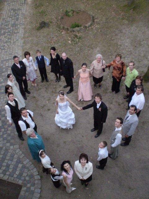 Naše sny..... - Taketo srdiečko som odfotila na svadbe drahého netere.....