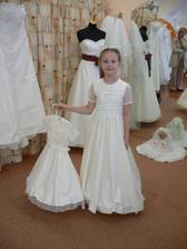družička Eliška a Terezky šaty