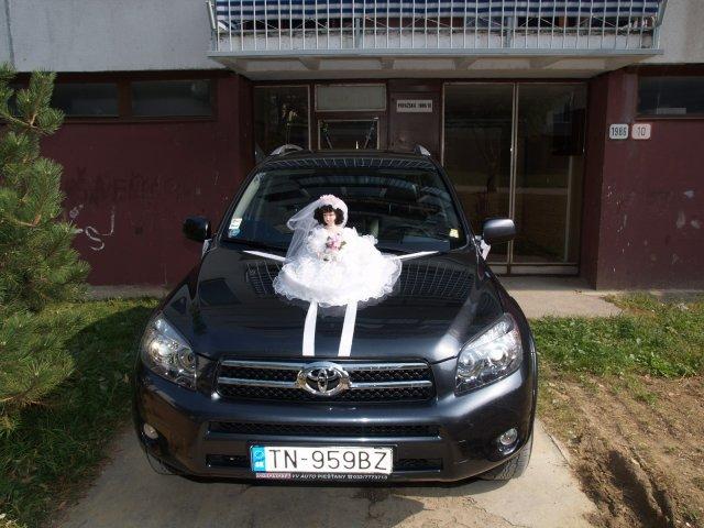 Majka Mičiaková{{_AND_}}Rudko Gajar - nase svadobne auto