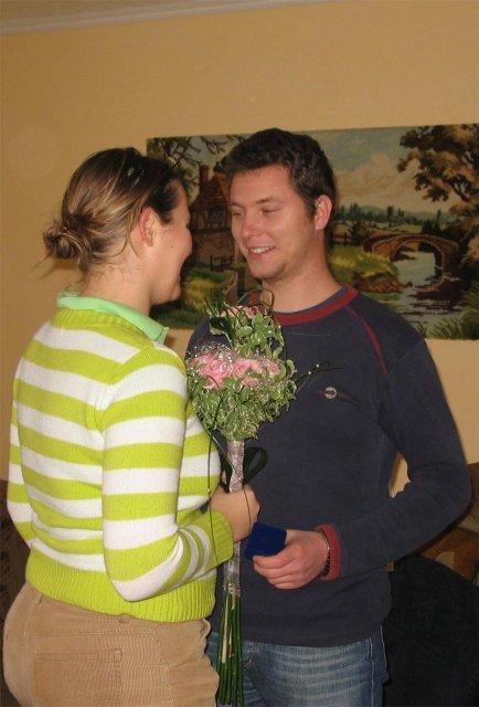 Zasnuby - Naše zásnuby 11.11.2006