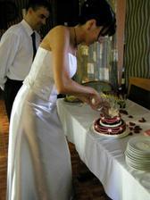 takhle se krájí dortík