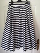 Pásikovaná námornícka sukňa, 38