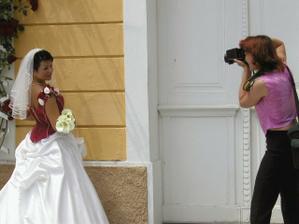 S paní fotografkou