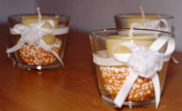 Inspirace - krásné svícínky ... svícen, svíčka, písek, zdobení .... (od Jennifer)