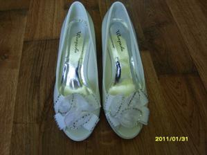 moje svadobne topanky :)
