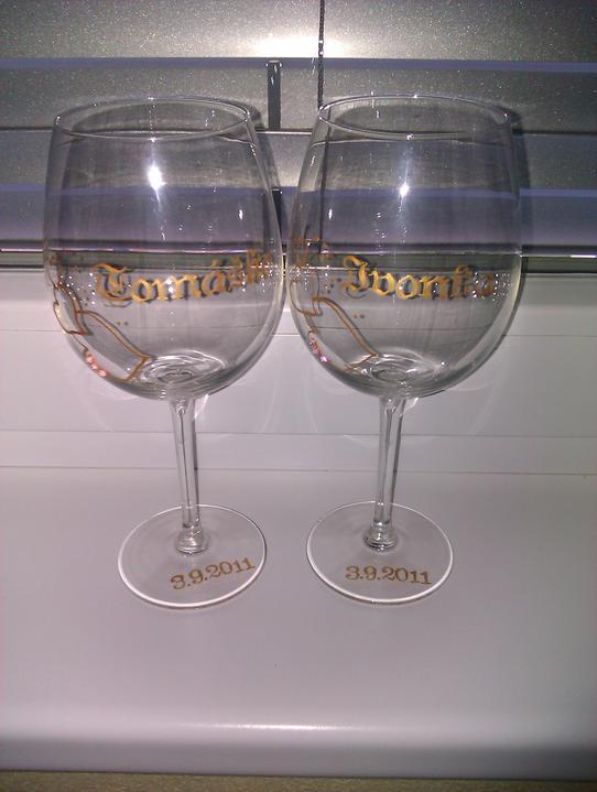 T+I =♥ - naše poháre
