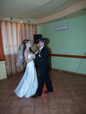 nasleduje prvý manželský tanec