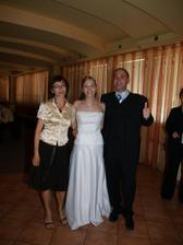 s ocinom a jeho priateľkou