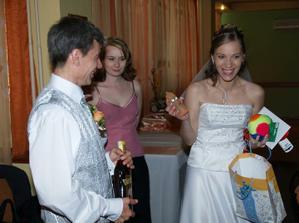 a ďalši svadobný dar pre svadobný dar :)
