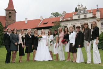 Nevěsta a kámošky:o) profi foto