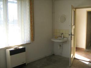 Původní majitelka obývala jen jednu místnost.