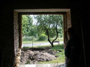 Vysněné dveře z obýváku