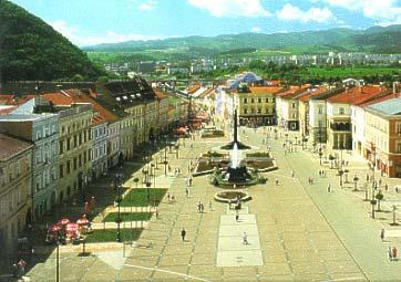 Nas svadobny sen - Moje rodne mesto Banska Bystrica,miesto konania