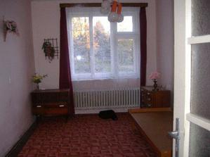 jedna z bývalých ložnic
