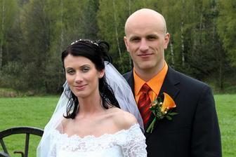 novomanželé Doležalovi