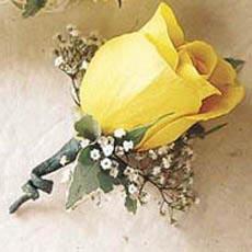 Květnová svatba 3.5.2008 - Pet'a a Míša - takovou korsáž ženichovi?