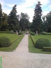 zahrada na Buchlovském zámečku