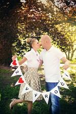 ...naše puntíkaté (retro) 2. výročí svatby:)