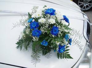 na auto bych chtěla květy a tyto se mě líbí
