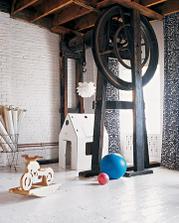 Martha Stewart Rodinný loft na Manhattane Detská izba