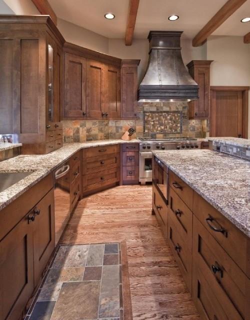 Rustikàlna kuchyňa, to je teplo domova - krasne farby