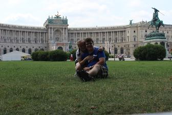 Viedeň - Hofburg 2014
