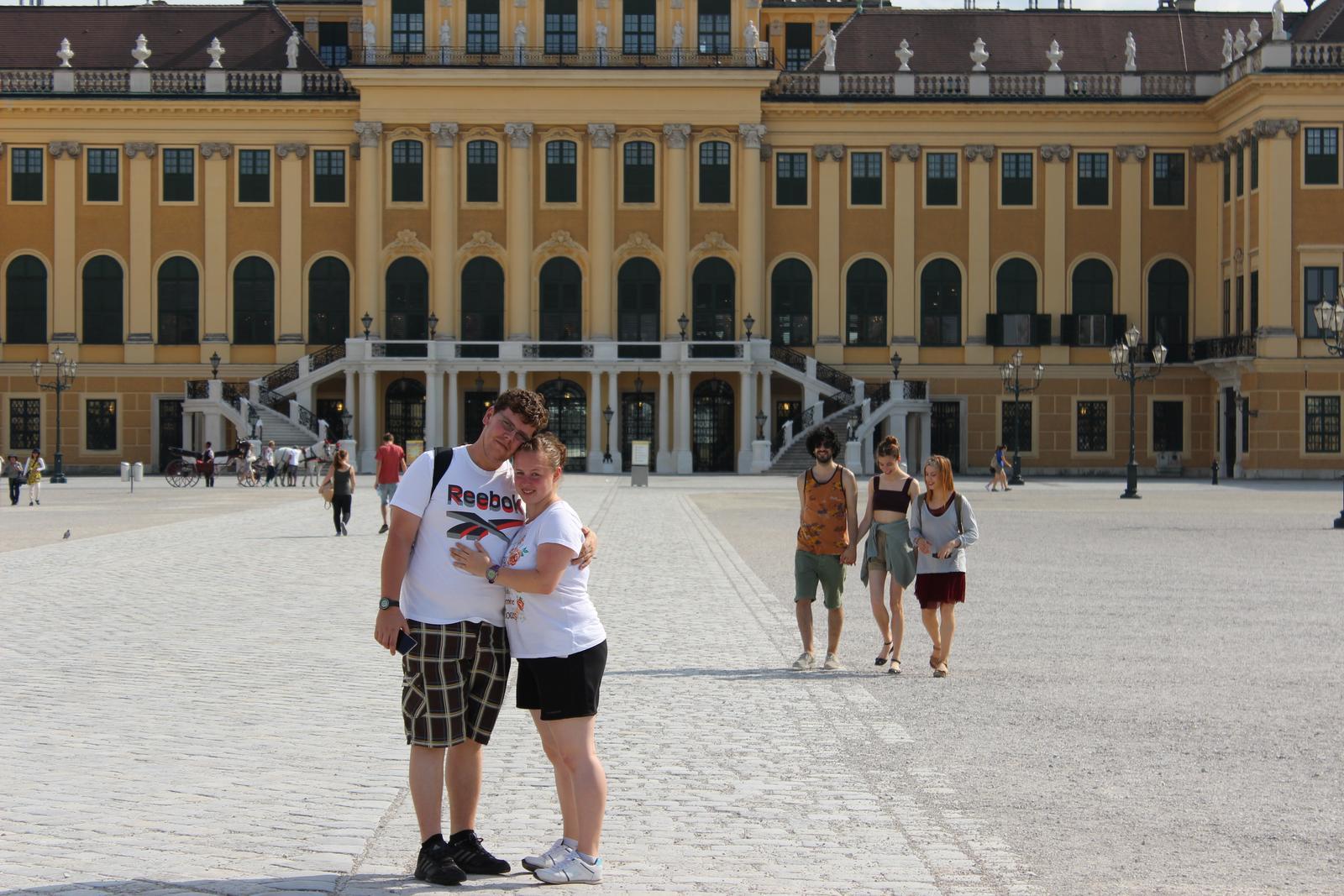 TY+JA=♥♥♥ - zámok Schönbrunn