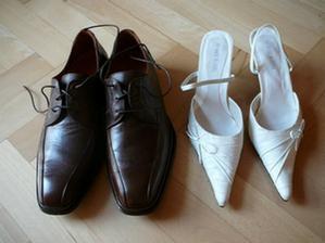 Naše svatební botičky