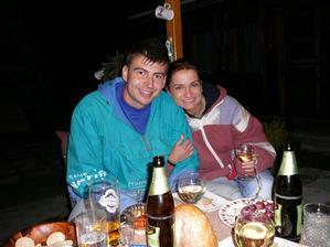 Můj brácha Jirka a jeho přítelkyně Evča - svatební hosté