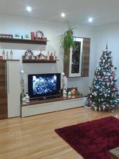 Obyvačka vo vianočnom šate:)