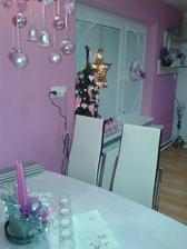 Kuchyňa vo vianočnej atmosfére
