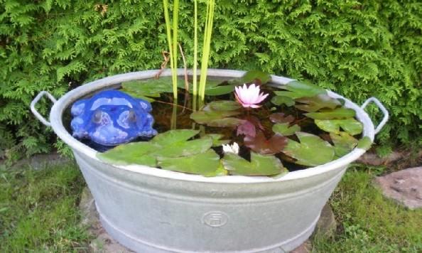 Voda v záhrade - aj pri malých detoch