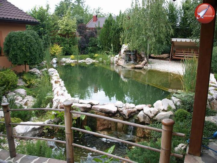 Voda v záhrade - kúpacie jazierko