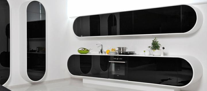 Black and White-zaujímavý kontrast - super moderný dizain